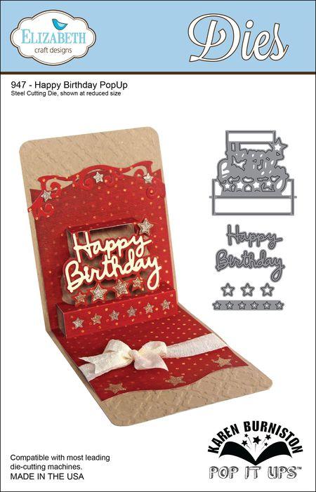 947 - Happy Birthday PopUp