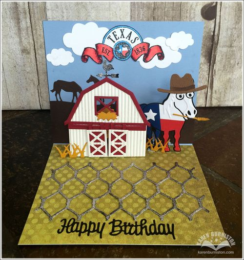 I am not left handed 17th birthday cards for karl emma in this next photo you can see that when the barn doors slide open a little happy birthday message is revealed inside the barn plus some additional hay bookmarktalkfo Gallery