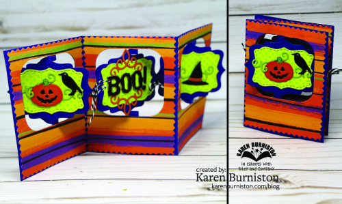 Halloween Charm Accordion Both