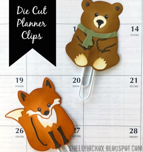 Shelly hickox planner clips