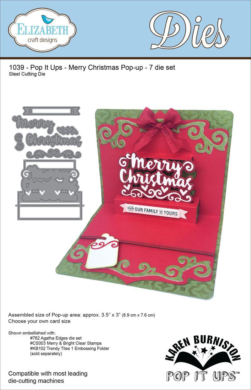 1039_Merry Christmas Popup