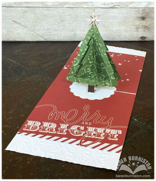 Pop it Ups Christmas Trees Pop Stand Open