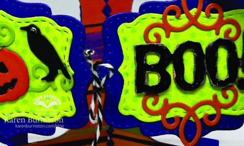 Halloween Charm Accordion Detail