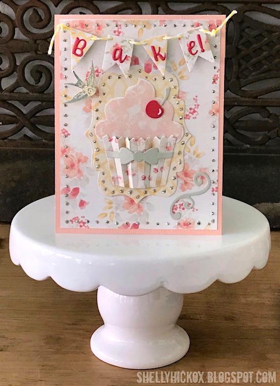 Shelly hickox cupcake invitation
