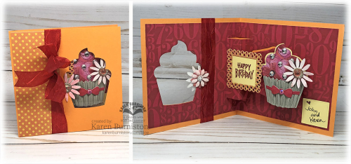 CupcakeWindowBirthdayCard