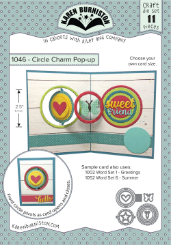 1046 Circle Charm Pop-up