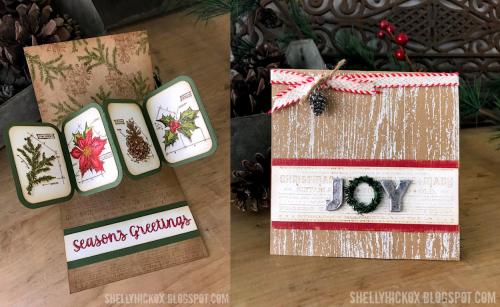 Shelly hickox twist christmas card