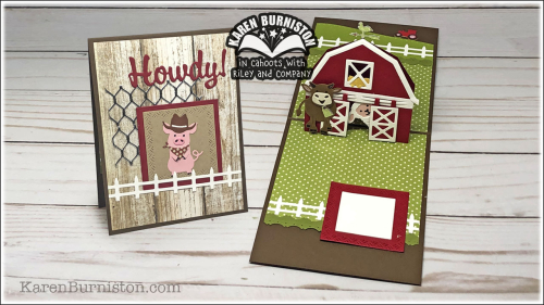 Howdy Barn Card