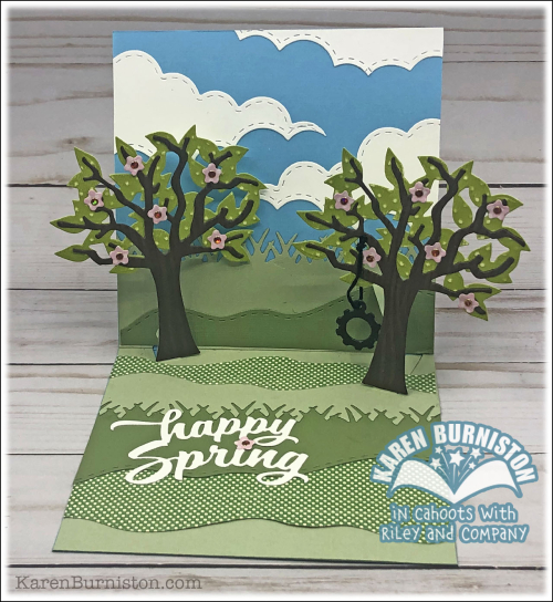 HappySpringTreeCardOpen