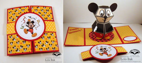 LB_DC Happy Birthday Mickey Mouse front