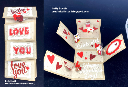 KB_Love Flap Card