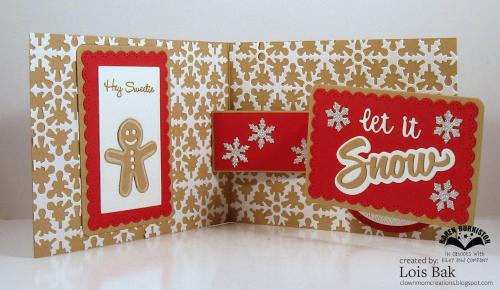 Gingerbread House Rockin' Rectangle inside 1
