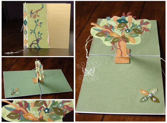 01 Sizzix Pop-up Die Projects: Green Tree Card